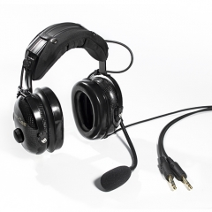 Extremely light-weight Aviation headset