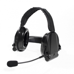 Neckband Headset with Ear Defends and talk through function